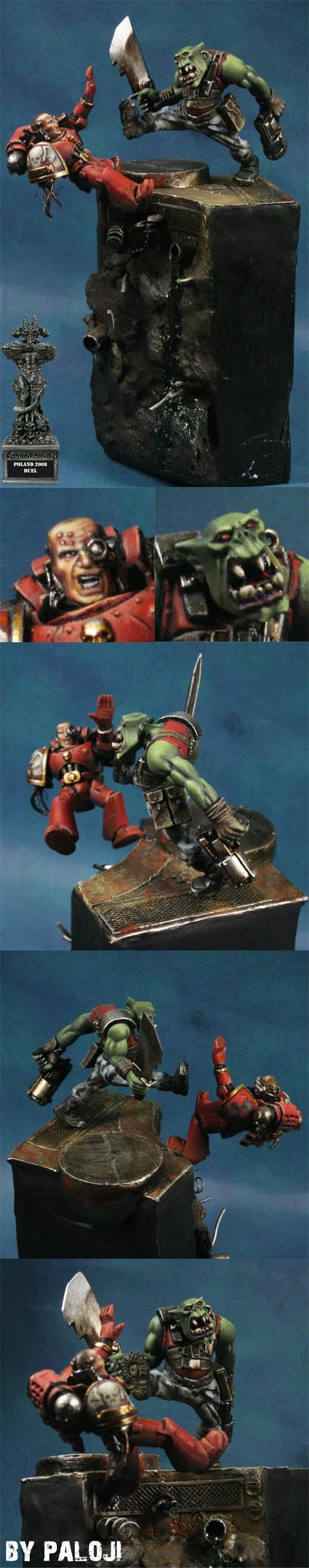 Images Golden Demon - Page 3 Ork_vs_blood_angel